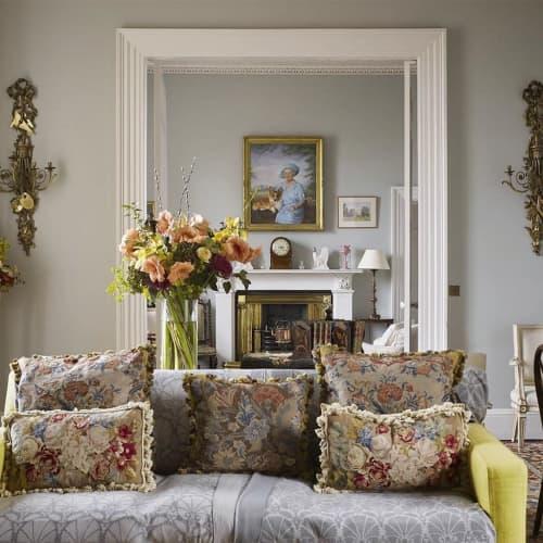 Pillows by Chelsea Textiles at Queen Elizabeth Castle of Mey Trust, Mey - Pillows