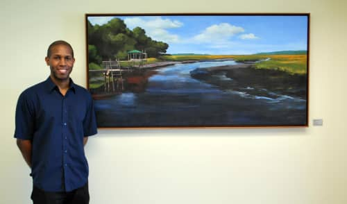 Quiet Time | Paintings by Keith Doles | Baptist Medical Center South in Jacksonville