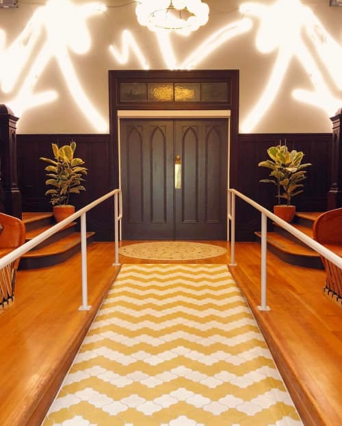 Neon lighting | Lighting by Meryl Pataky | The Assembly in West Hollywood