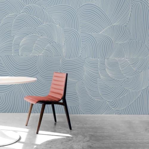 Wallpaper by Jill Malek Wallpaper - Cocoon | Ocean