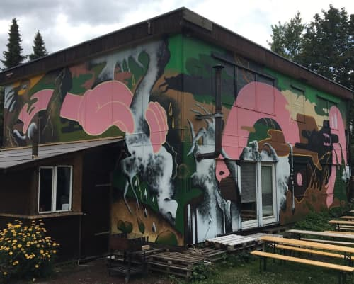 """""""Camouflage/Latitude"""" Mural 