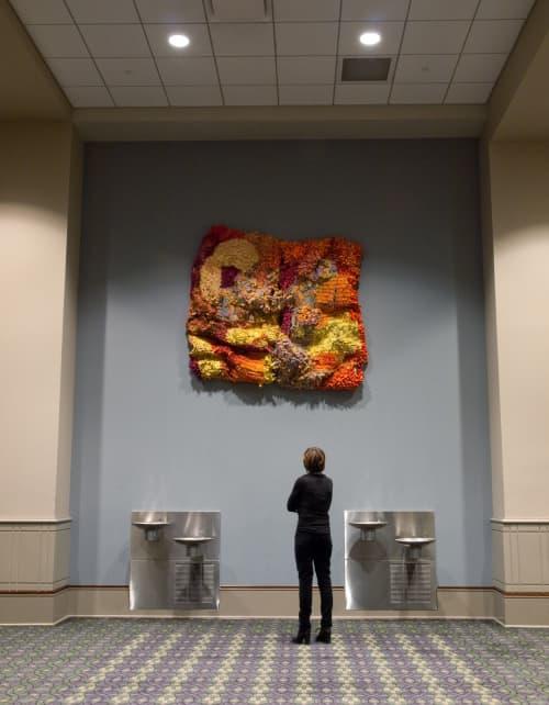 Amass #9 | Art & Wall Decor by Margery Amdur | Pennsylvania Convention CENTER in Philadelphia
