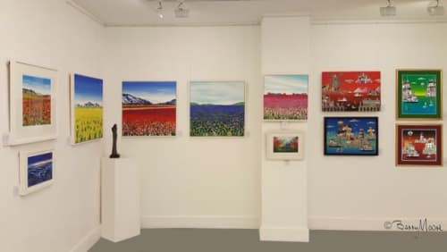 Espacio Gallery London | Paintings by Becca Clegg | Espacio Gallery in London
