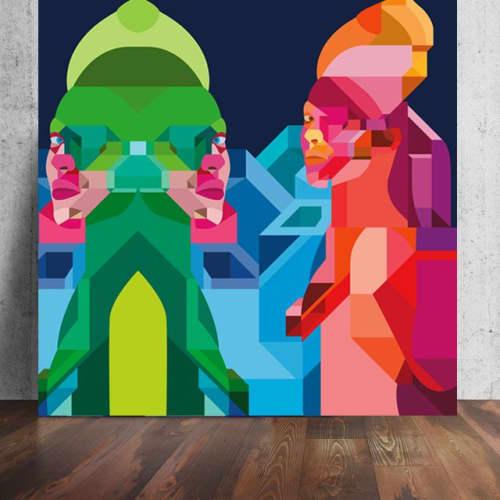 Murals by Moleiro Artwork - Let Me Play
