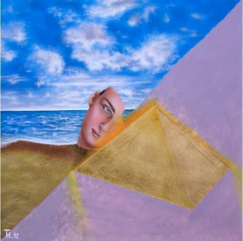 Paintings by Tibor Hargitai Art seen at Private Residence, Calgary - Tranquility 1991