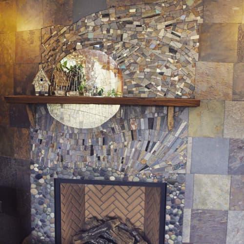 Art & Wall Decor by JK Mosaic, LLC - Buffy Fireplace