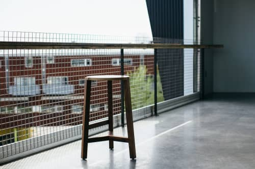 Chairs by Housefish seen at Creator's Studio, Denver - Tercet Bar Stool