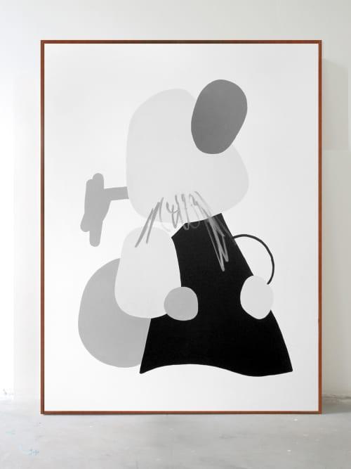 Acrylic on canvas | Paintings by Defi Gagliardo