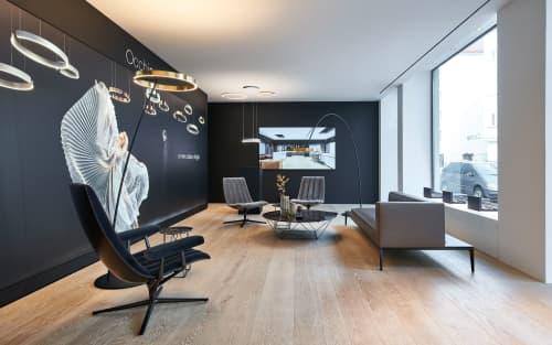 Showroom Munich, Occhio | Interior Design by 1zu33 Architectural Brand Identity