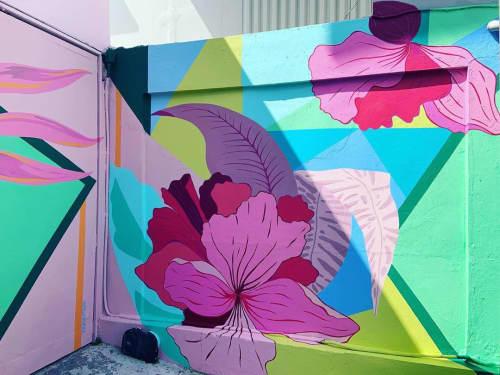 Floral mural | Murals by Natilla Rivera | Blush San Juan in San Juan