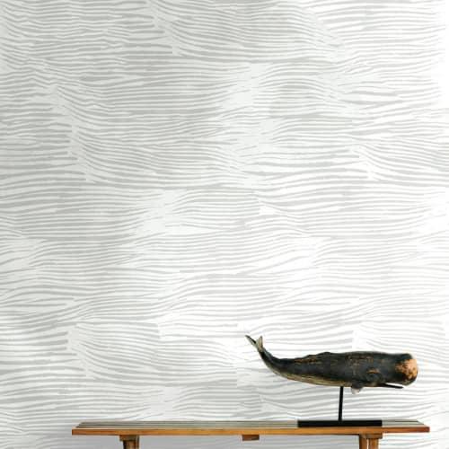Wallpaper by Jill Malek Wallpaper - Aegean   Stone