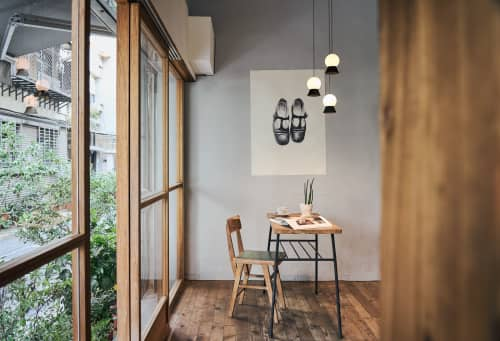 Pendants by SEED Design USA seen at 858 Lind Ave SW, Renton - FUJI Pendant