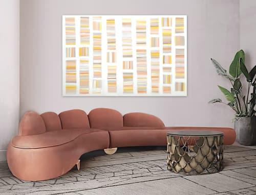 'SUN AND MARiGOLDS' | Paintings by Linnea Heide contemporary fine art