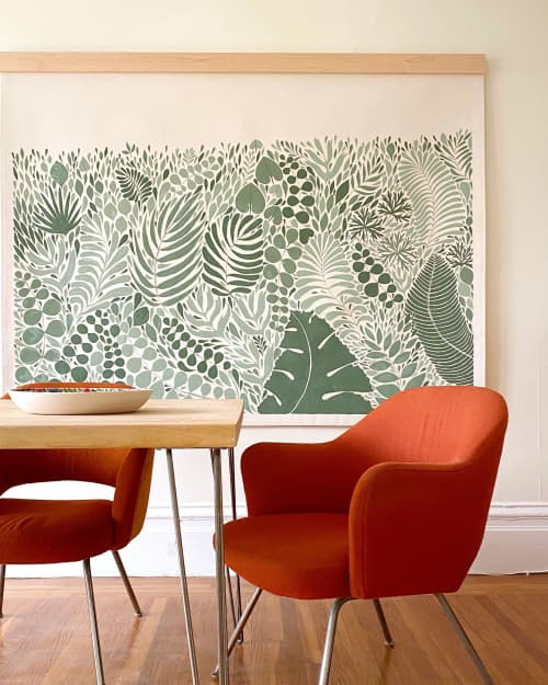 Golden Gate Tapestry | Paintings by Anastasia Tumanova | San Francisco in San Francisco
