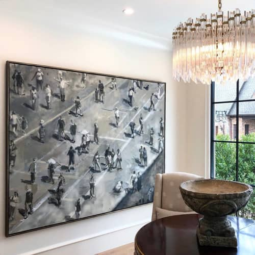 Paintings by Grant Drumheller seen at Private Residence, Charlotte - Painting