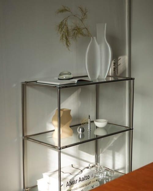 Double Vessel   Vases & Vessels by Argot Studio