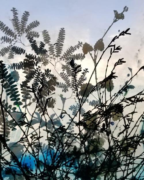 Pexiglas Painting   Paintings by Cara Enteles Studio   Industry City in Brooklyn