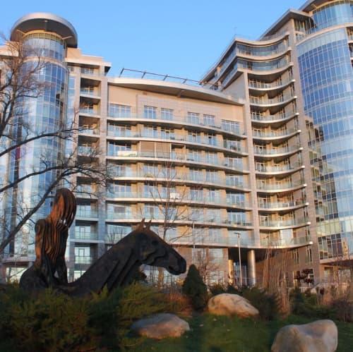 Public Sculptures by Alex Lidagovsky seen at Riviera Riverside Yacht Club, Kyiv - Outdoor Sculpture
