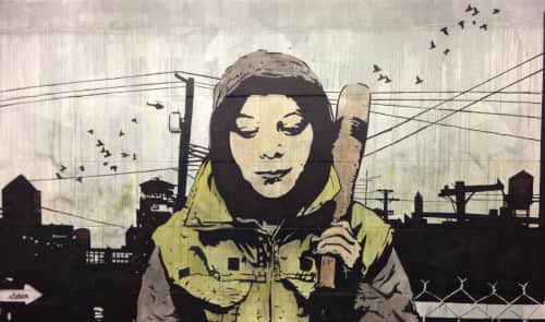 Chris Stain - Street Murals and Public Art
