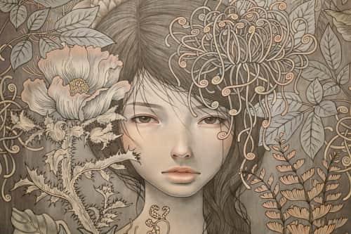 Audrey Kawasaki - Paintings and Murals