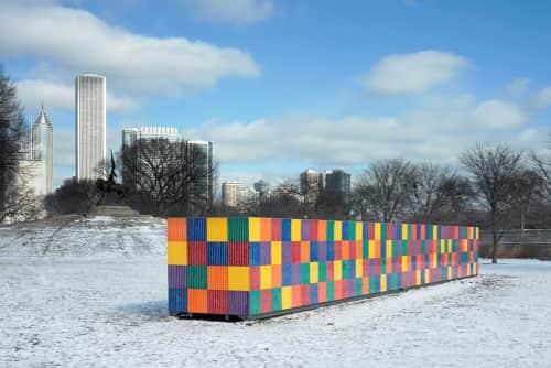 Tony Tasset - Sculptures and Public Sculptures