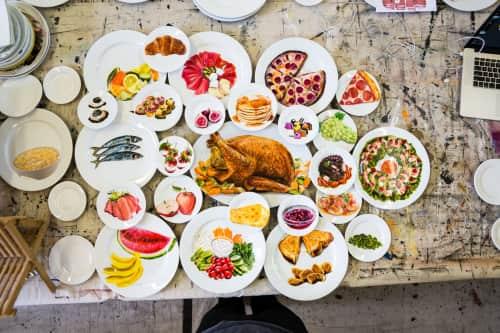 Jacqueline Poirier - Plates & Platters and Murals