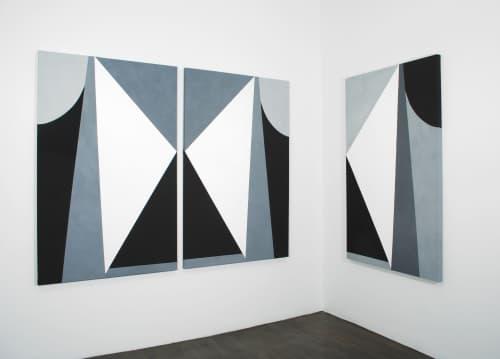 Sarah Crowner - Tiles and Paintings