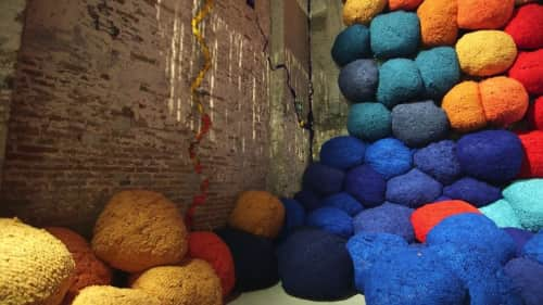 Sheila Hicks - Public Sculptures and Public Art