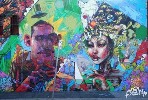 David Choe - Murals and Art