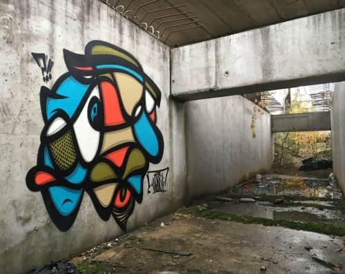 Wone - Street Murals and Public Art