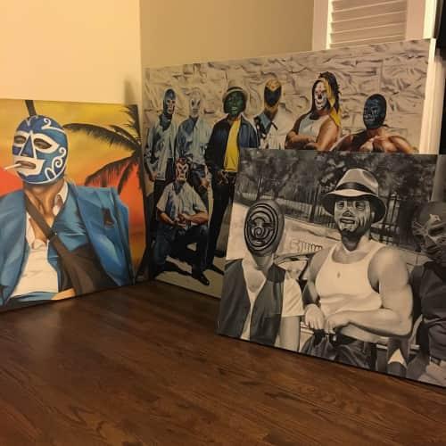 Danny Mateo - Murals and Art
