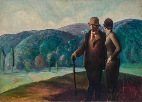 Guy Pene du Bois - Murals and Art