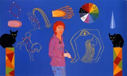 Joan Brown - Paintings and Art