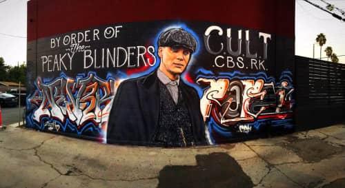 Cult-Classics (Jonas Never) - Murals and Art