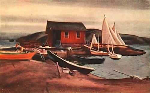 Millard Owen Sheets - Murals and Art