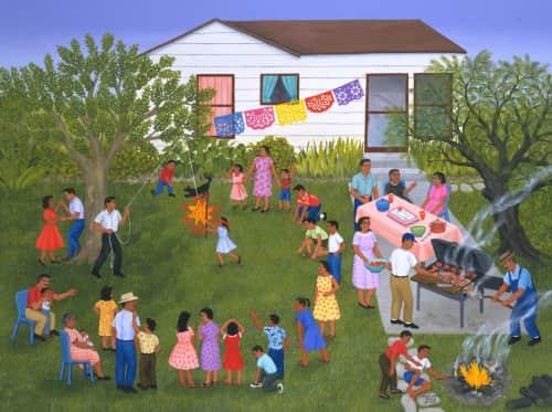 Carmen Lomas Garza - Paintings and Art