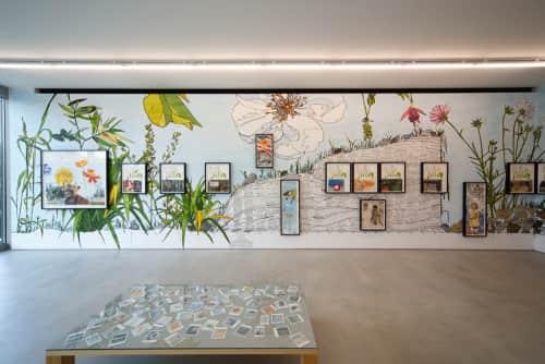 Dave Muller - Murals and Art