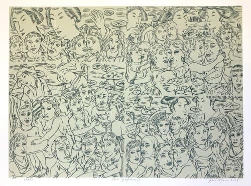 Jose Lozano - Murals and Street Murals