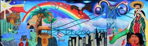 Christy Majano - Street Murals and Public Art