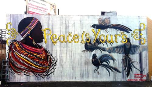 Lydia Emily - Street Murals and Public Art