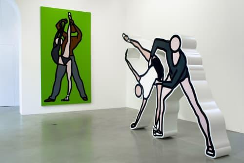 Julian Opie - Murals and Art