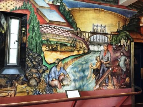 Gordon Langdon - Murals and Art