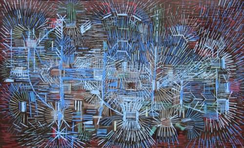 Lee Mullican - Paintings and Art