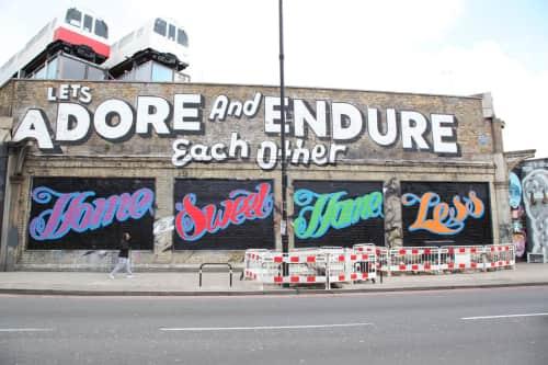 Ben Eine - Murals and Art