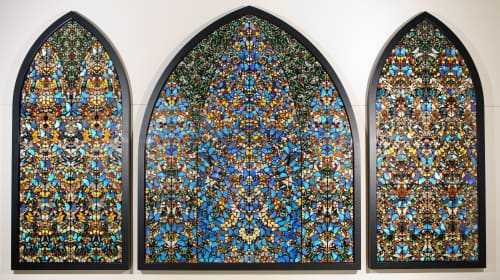 Damien Hirst - Paintings and Art