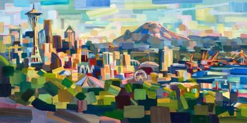 Brooke Borcherding Fine Arts - Paintings and Art