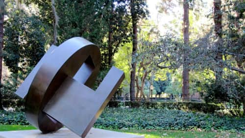 Fletcher Benton - Sculptures and Art