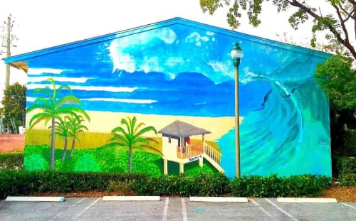 Rye Quartz - Murals and Street Murals