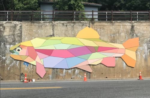Mary Lacy - Street Murals and Public Art