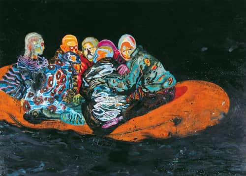 Daniel Richter - Sculptures and Art